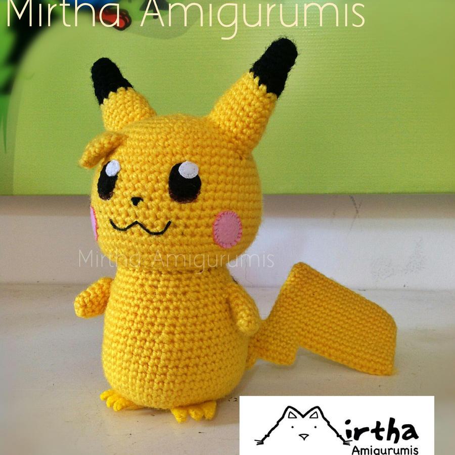 Pikachu Amigurumi by MirthaAmigurumis on DeviantArt