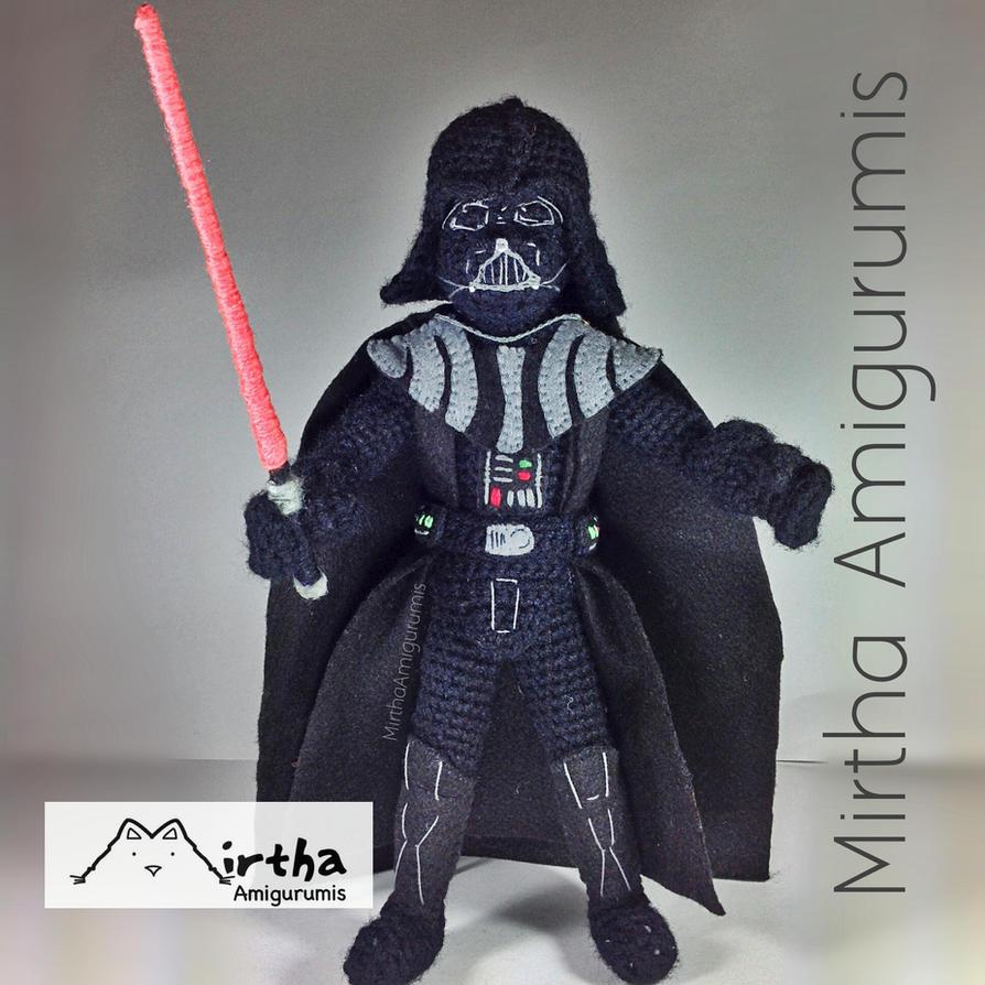Amigurumi Star Wars Tutorial : Darth Vader Amigurumi Star Wars. by MirthaAmigurumis on ...