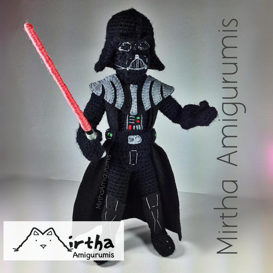 Libro Amigurumi Star Wars : Darth Vader Amigurumi Star Wars by MirthaAmigurumis on ...