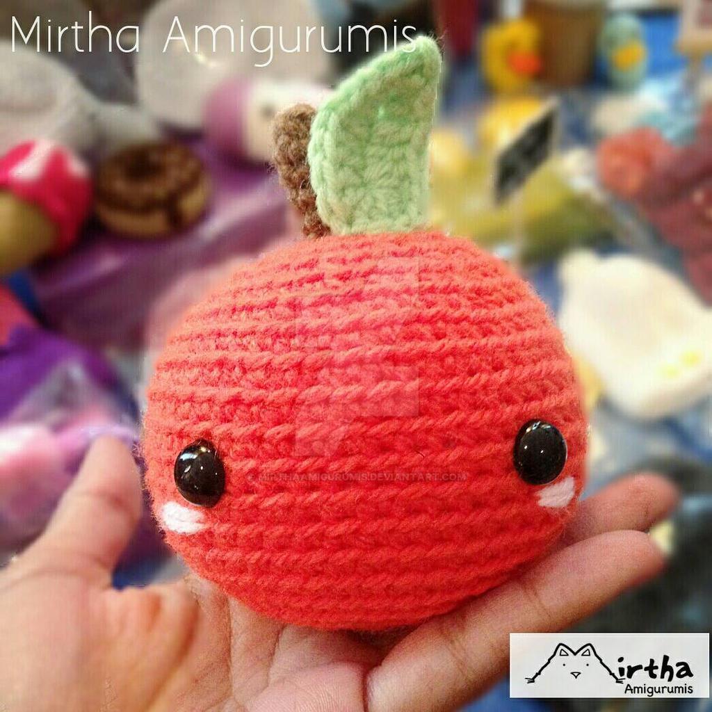 orange Amigurumi by MirthaAmigurumis