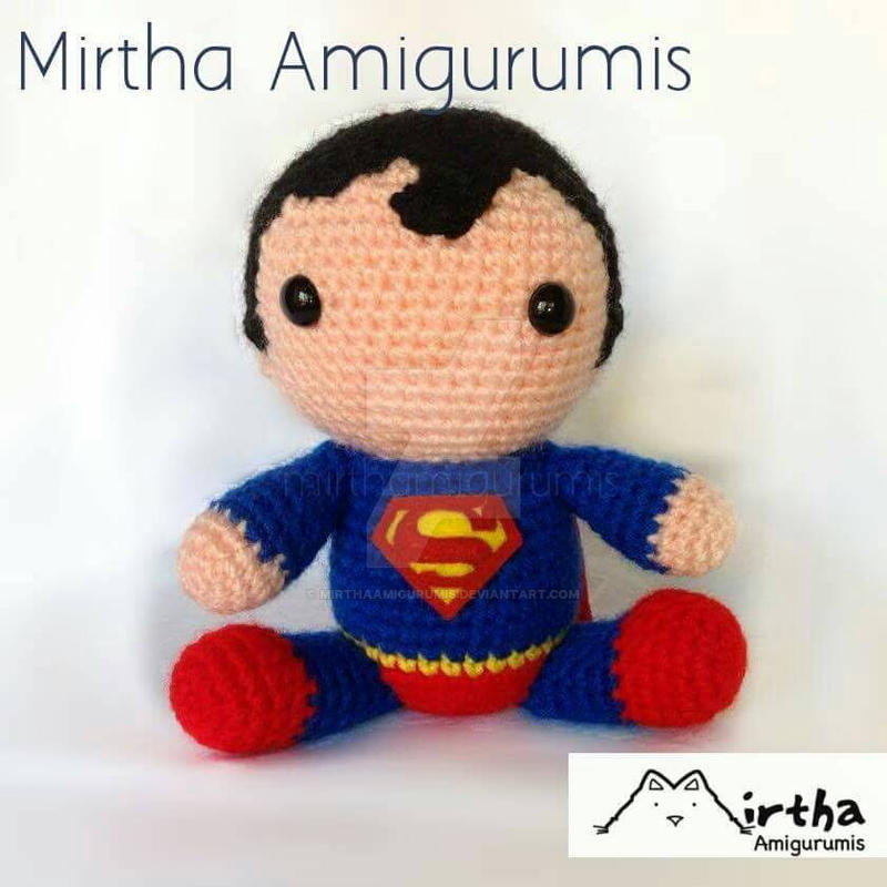 Amigurumi Superman by MirthaAmigurumis