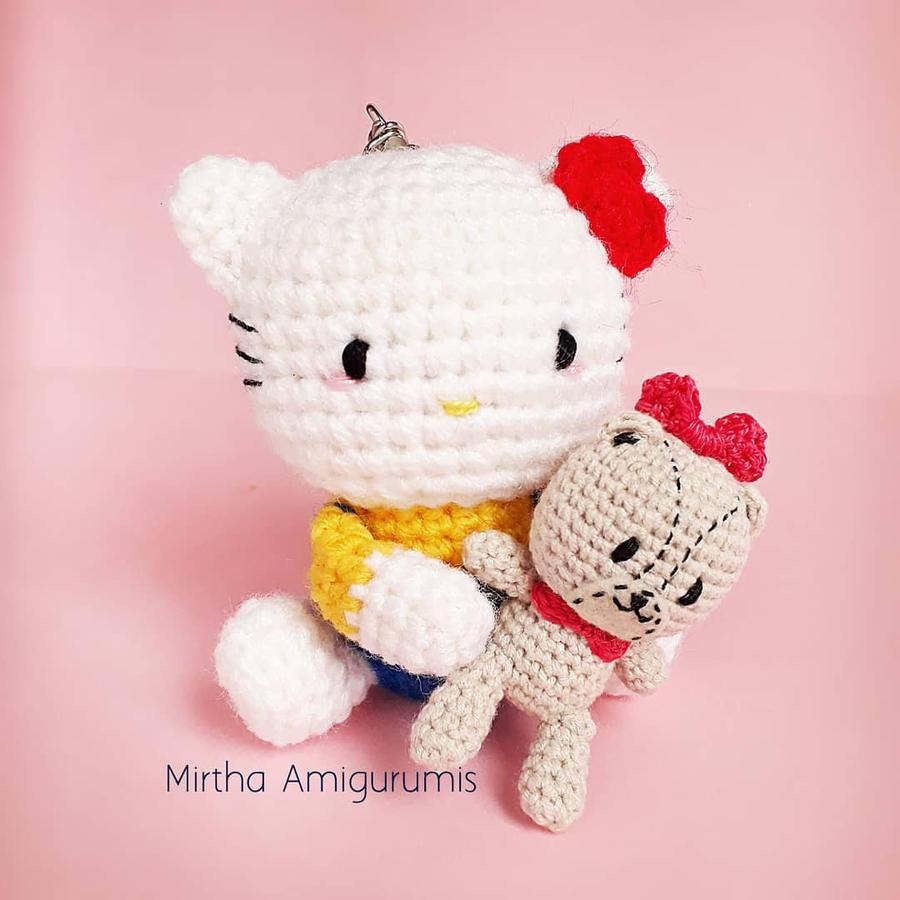 Ravelry: Big Hello Kitty pattern by Ella.D Design | 900x900