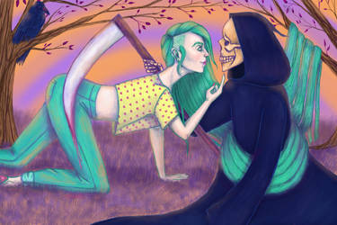 Kissing the Death by Nyachelle