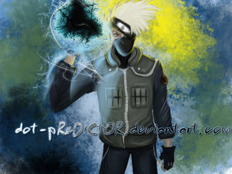 Just another kakashi painting by dot-pReDiCtOR