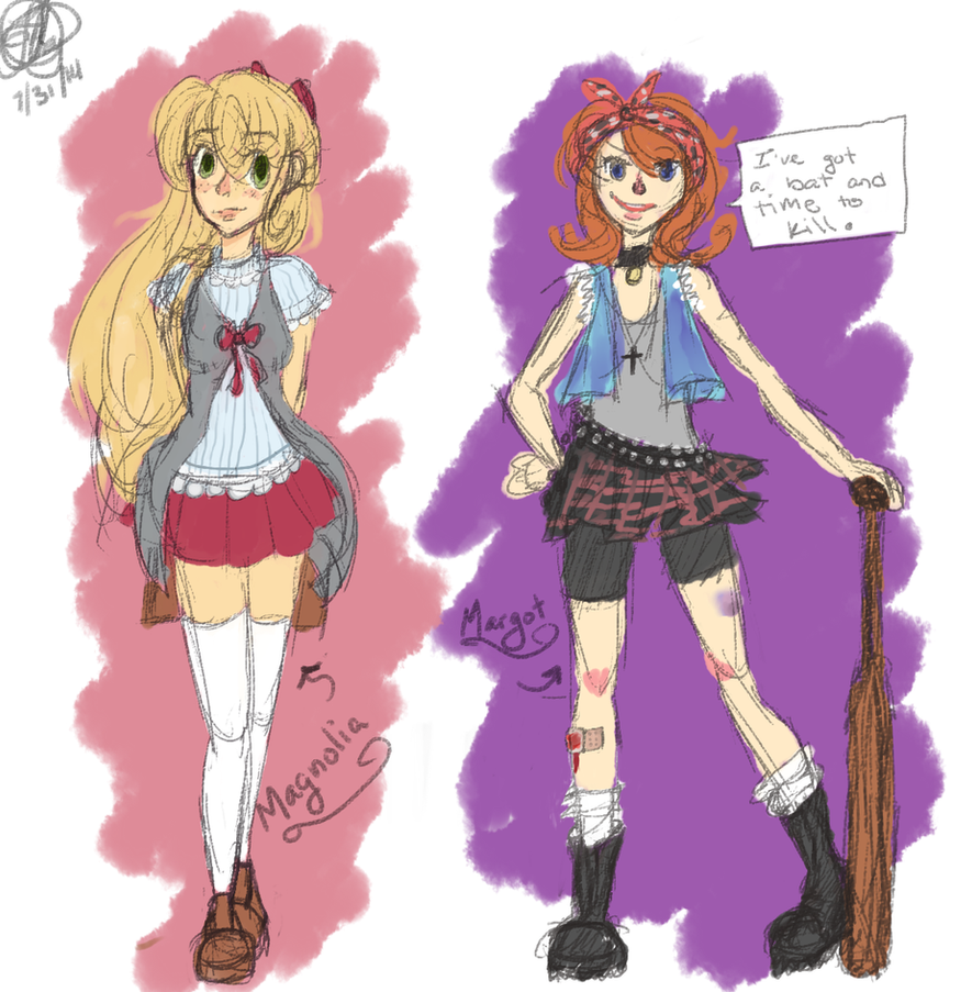 Margot and Magnolia by J-Mirakuru
