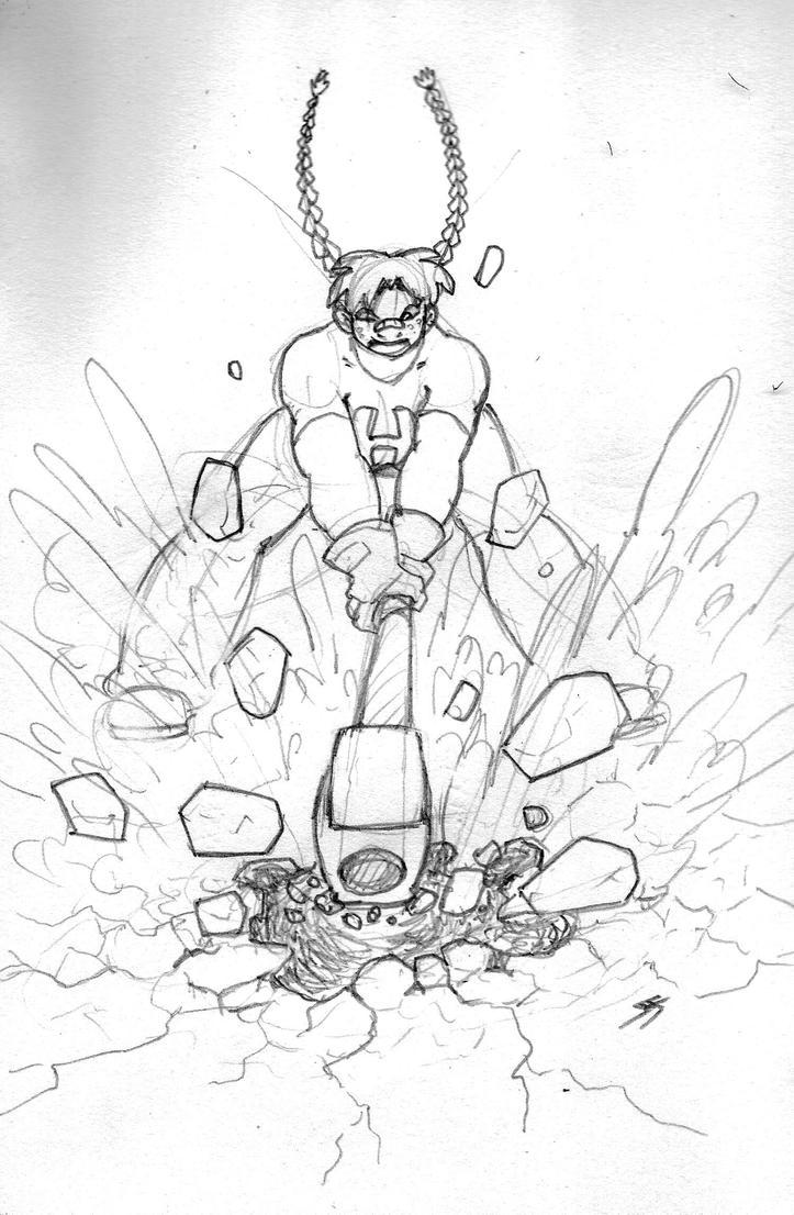 Hammer Lass Impact by Rottgiest69