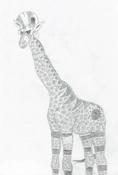 Zecora as a giraffe