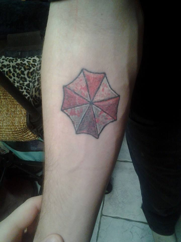 Resident Evil Splattered blood logo tattoo by Icedrgn027 ...