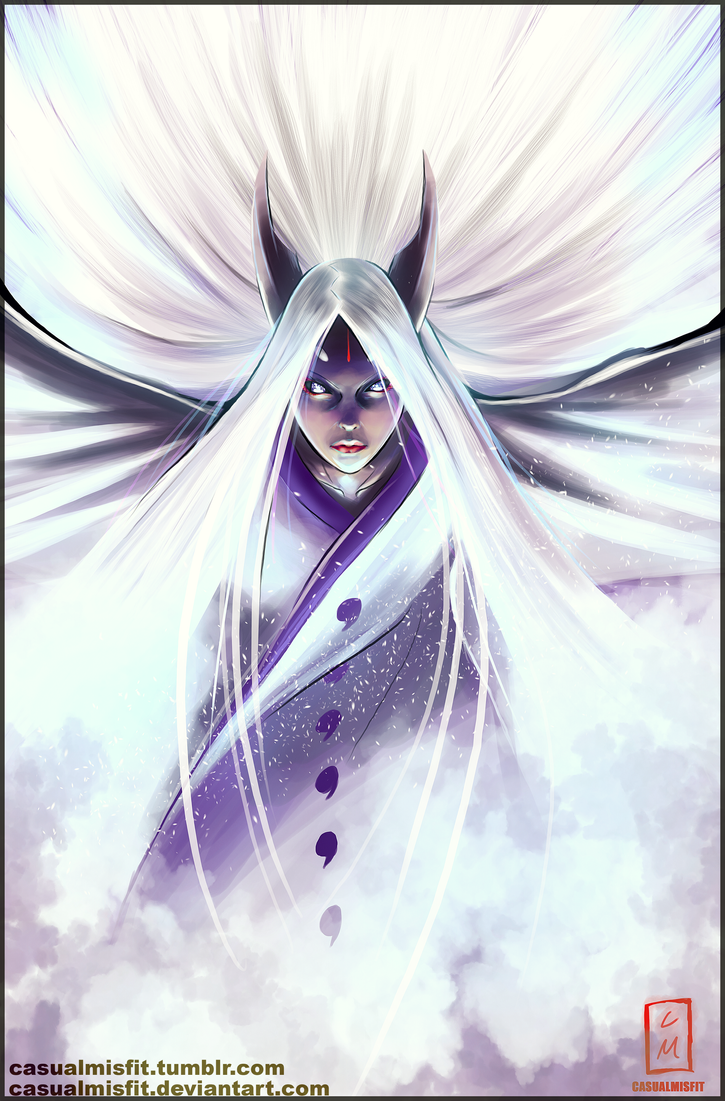 KAGUYA: MOTHER OF SHINOBI by Casualmisfit