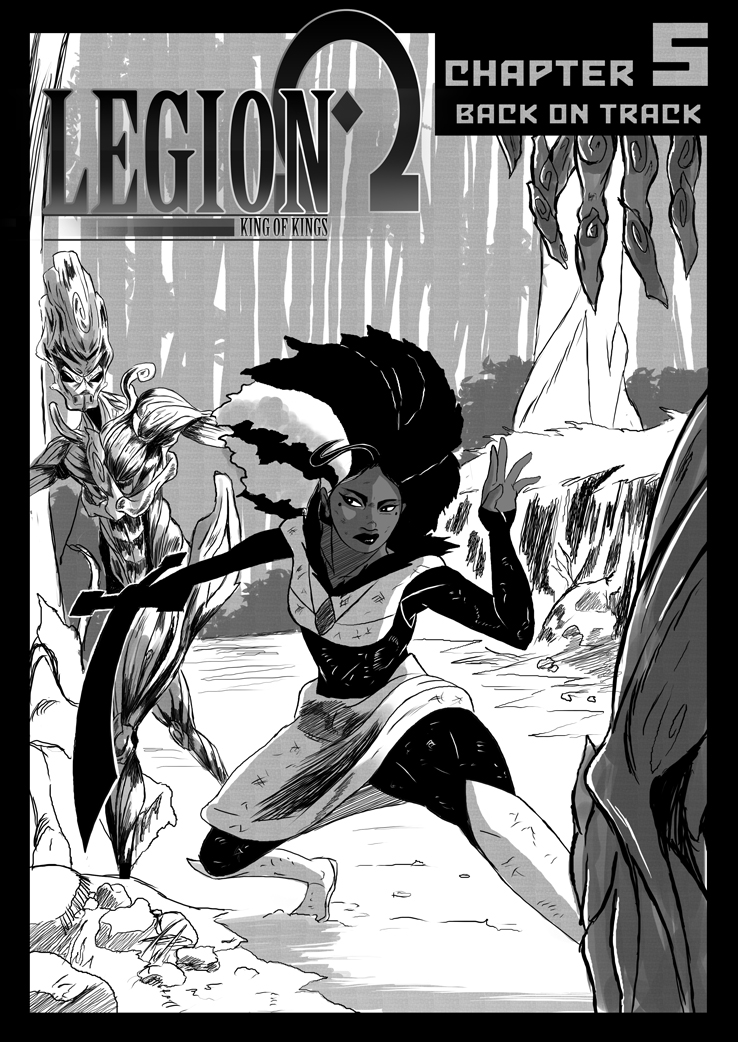Legion: King of Kings Chapter 5 cover page. by Casualmisfit