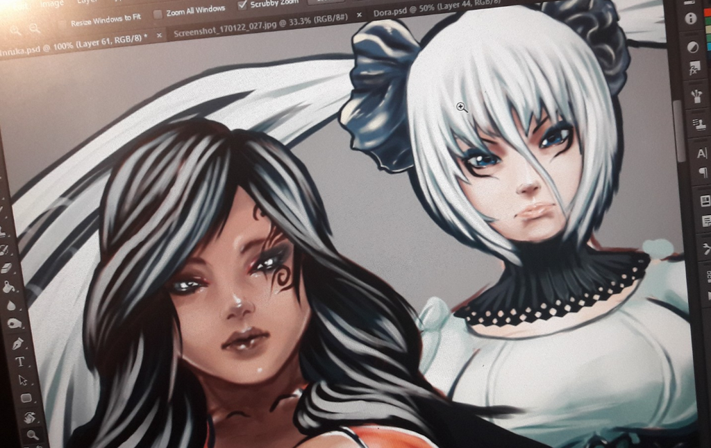 Blade and Soul Characters by Casualmisfit