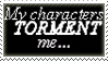 Character Torment Stamp by Marlin-Rae