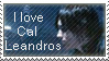 I Love Cal Leandros Stamp by Marlin-Rae