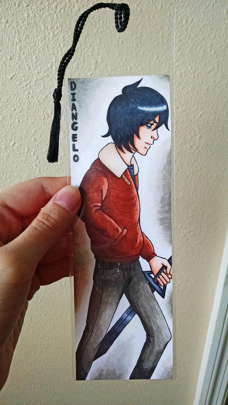 Nico di Angelo Bookmark by Marlin-Rae