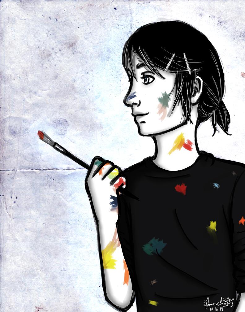 Painter Sammy by Marlin-Rae