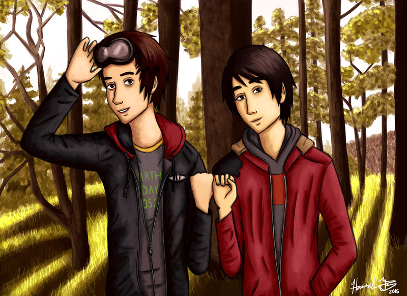 The 100 : Jasper and Monty by Marlin-Rae
