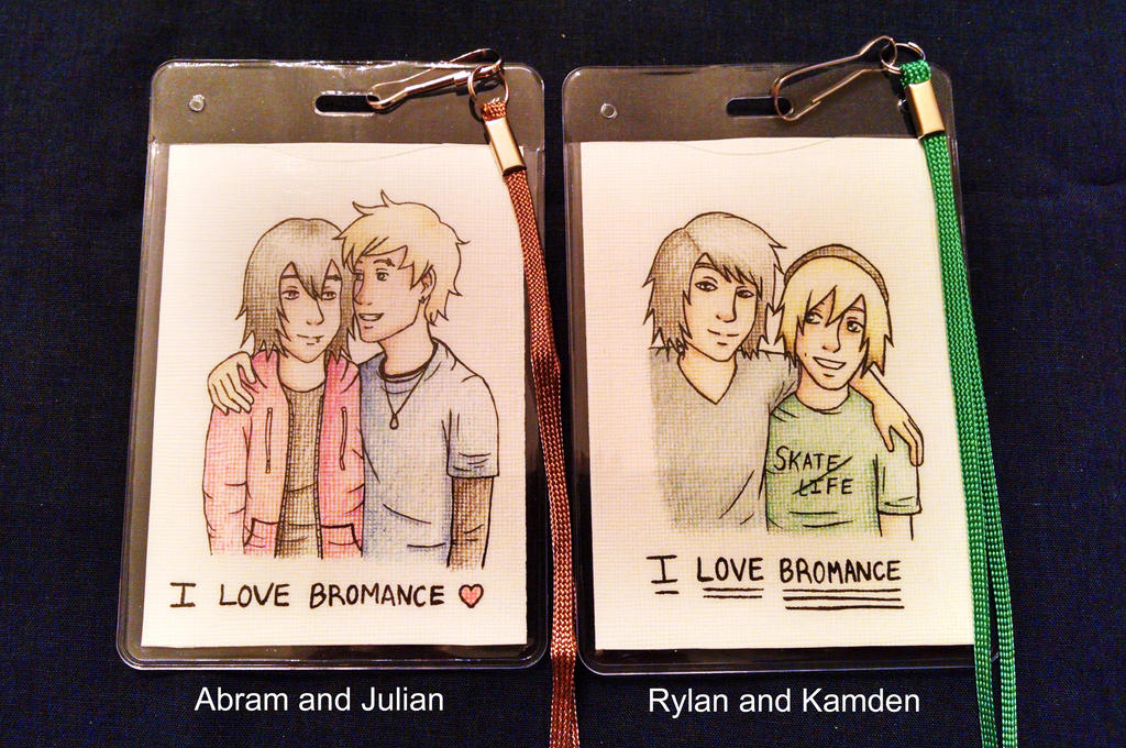 Picbadges Ilovebromance by Marlin-Rae