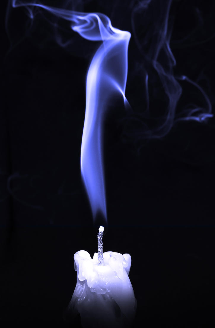 Experiment with candle smoke by emzee101 on deviantART