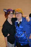 APH MCM:KittyItaly(sorta) and Cardverse America c: by LeSoapBubble
