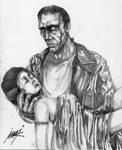 Frankenstein's Monster and Bride