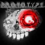 P.R.O.T.O.T.Y.P.E. Skull Logo