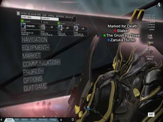 Warframe: Death Mark Indicator Idea