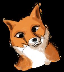 Goofy fox