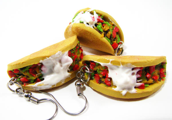 Taco Jewelry Set by SarahRose on deviantART