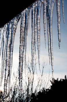 Ice against the Sky