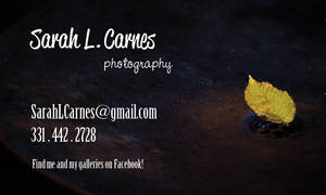 dA ID - leaf business card