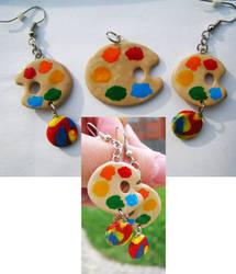 Palette Jewelry Set