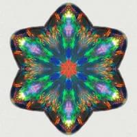 Opal Crystal Kaleidoscope
