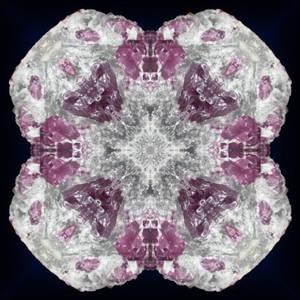 Violet Spinel Crystal Kaleidoscope