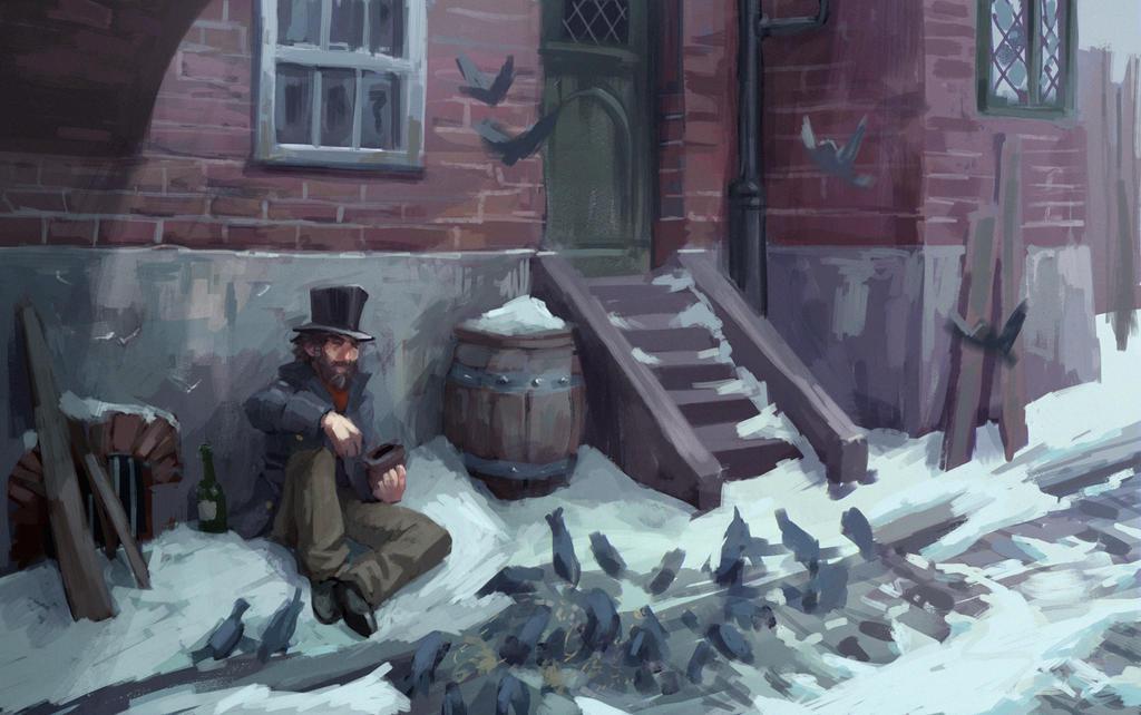 Birdman by DavidLeMerrer