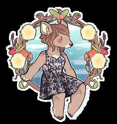 { Flower Wreath } by Hardrockangel