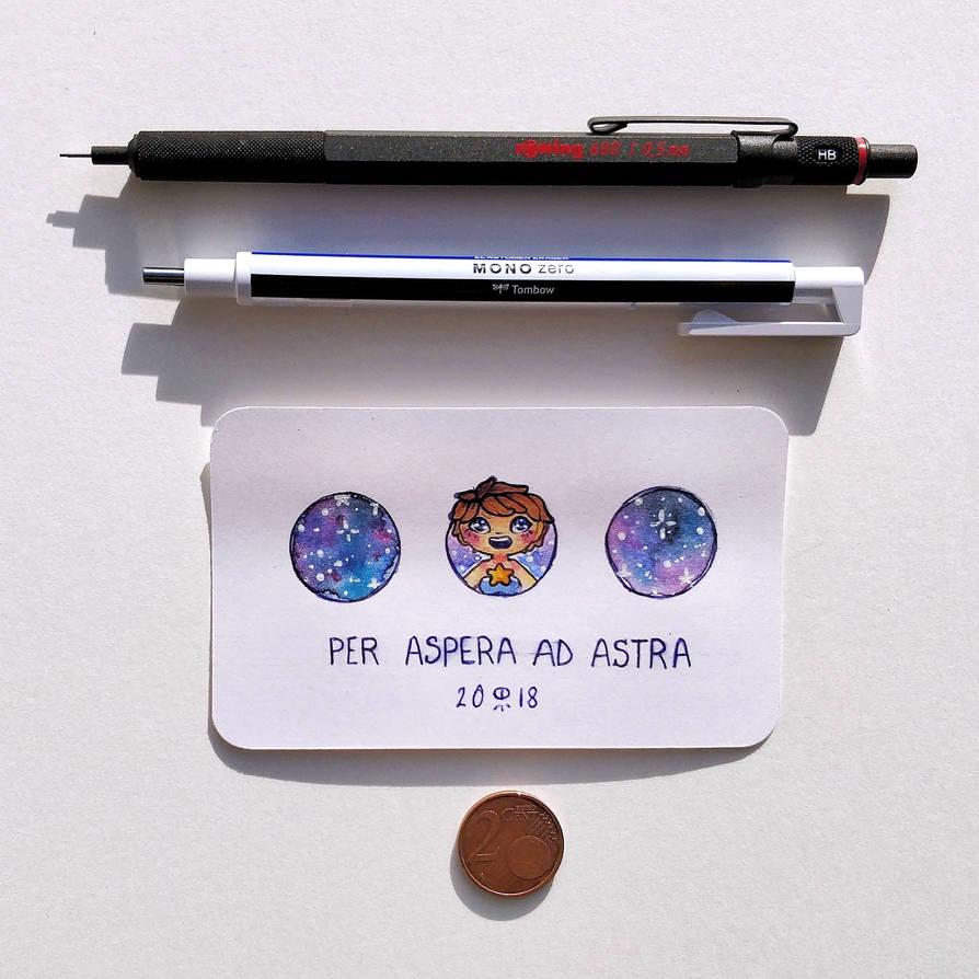 [Penny challenge ] - Per Aspera Ad Astra by Hardrockangel
