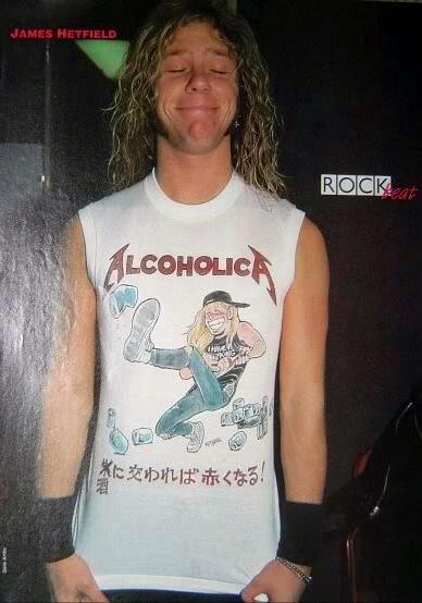 Alcoholica T-shirt process.01