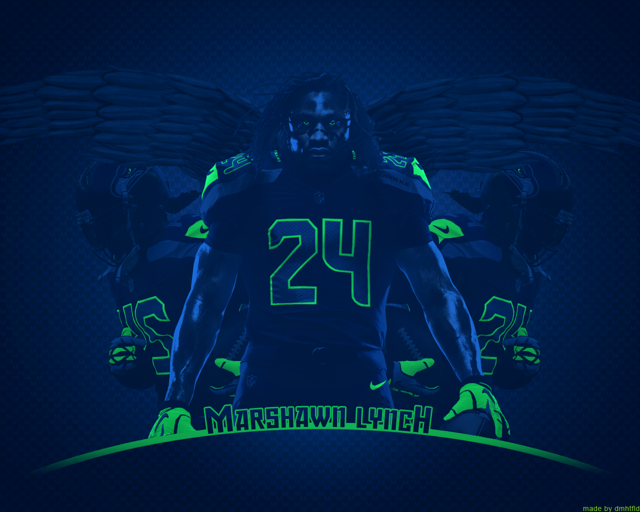 Marshawn Lynch Beast Mode Wallpaper Beast mode by dmhtfld
