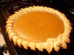 Pumpkin pie by Cupcake-Killer