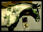 Roswell Horse from UFO Museum
