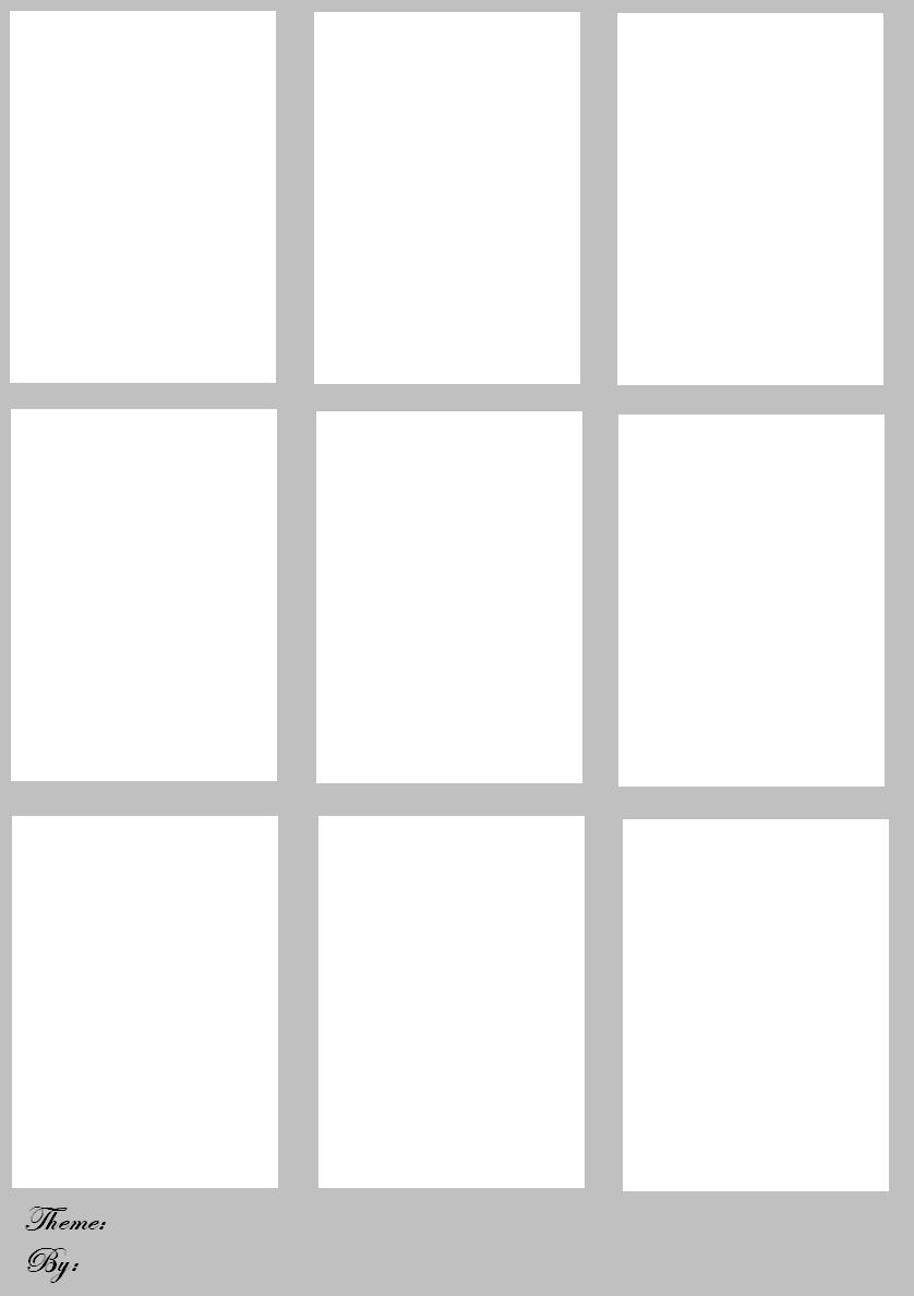 blank trading cards by bugeye27 on deviantart. Black Bedroom Furniture Sets. Home Design Ideas