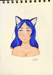 Cute girl by Chatshiki