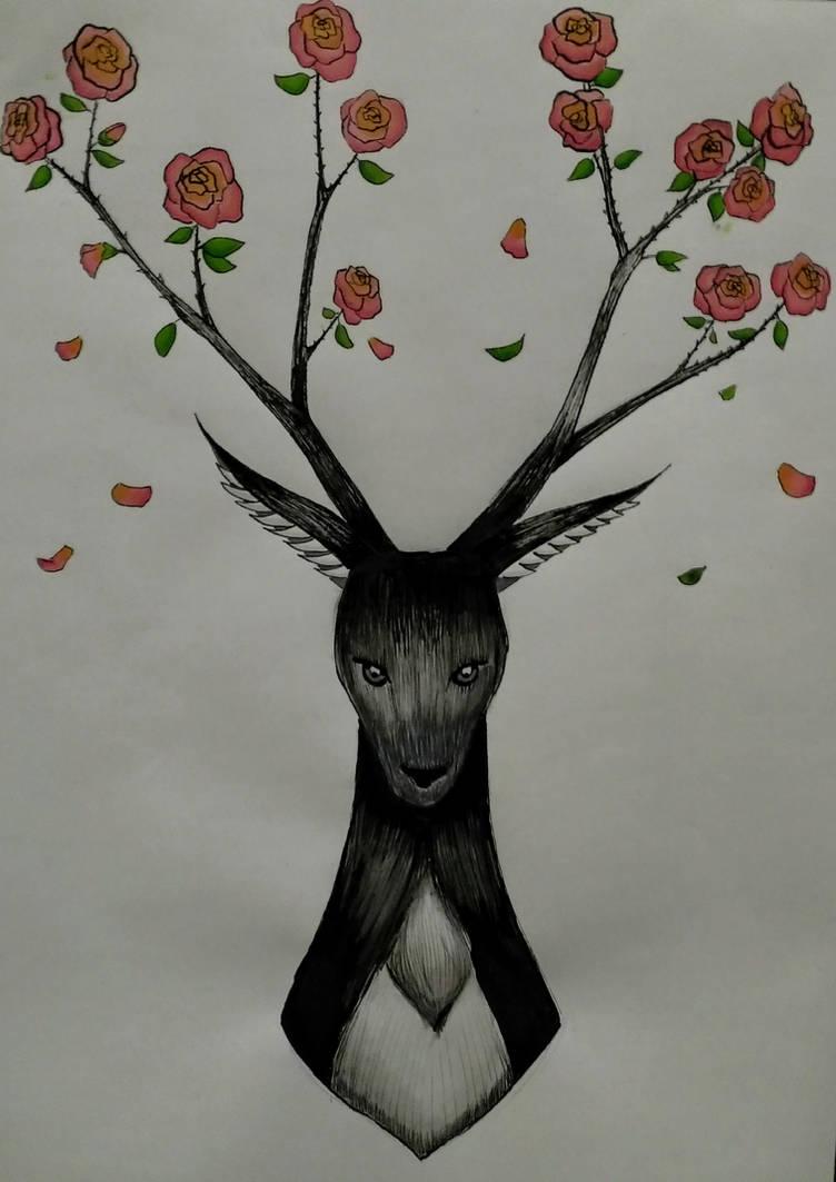 Deer by Chatshiki