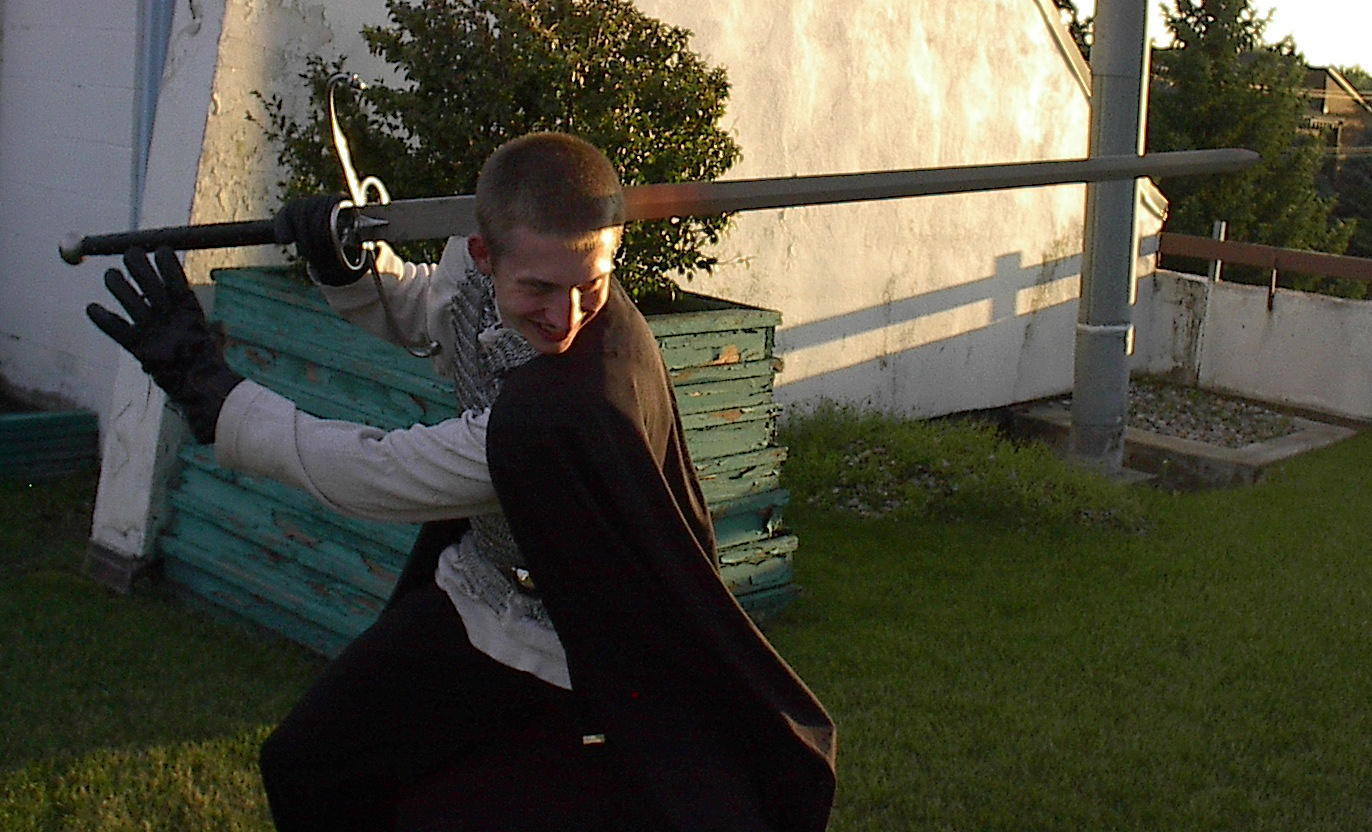 Knight Stalk: eye 8 ur gawd by OccasionalArtist