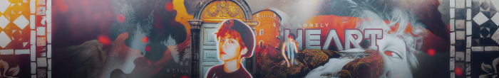 Lonely Heart Banner - RavenOrlov's Contest by baekyoong