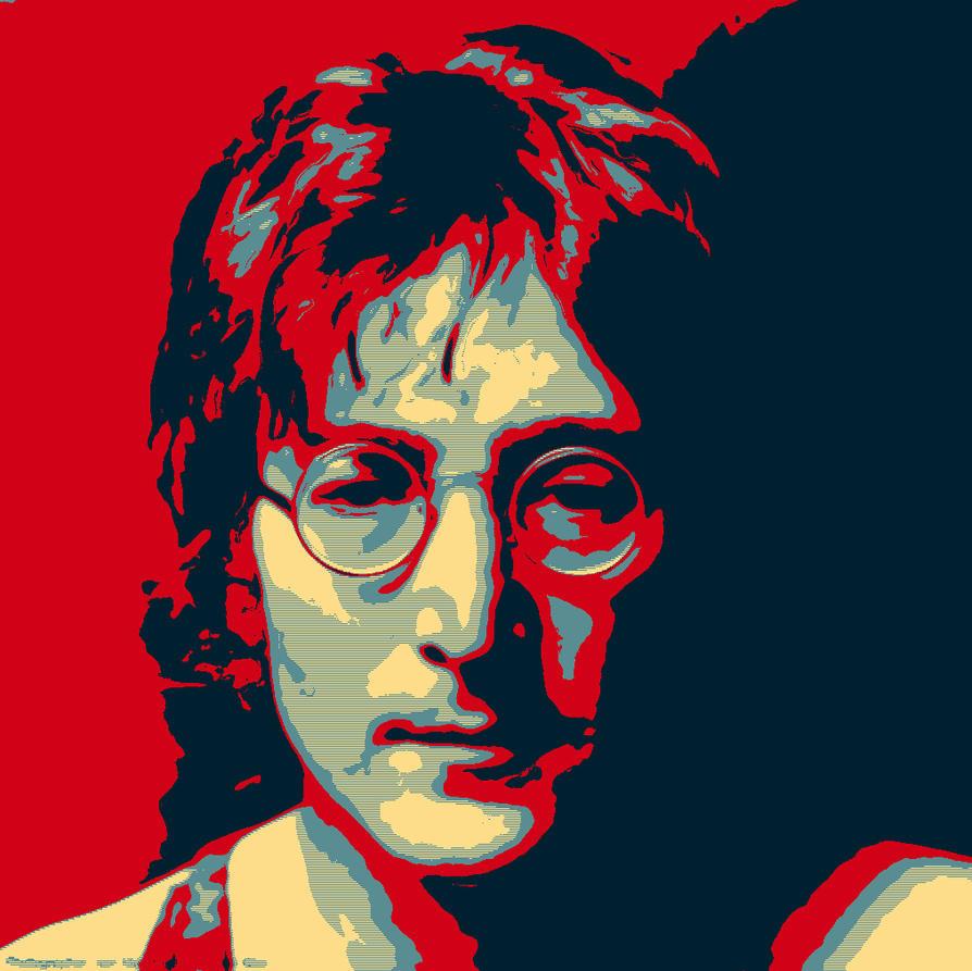 John Lennon Hope Poster By Trandoductin On DeviantArt