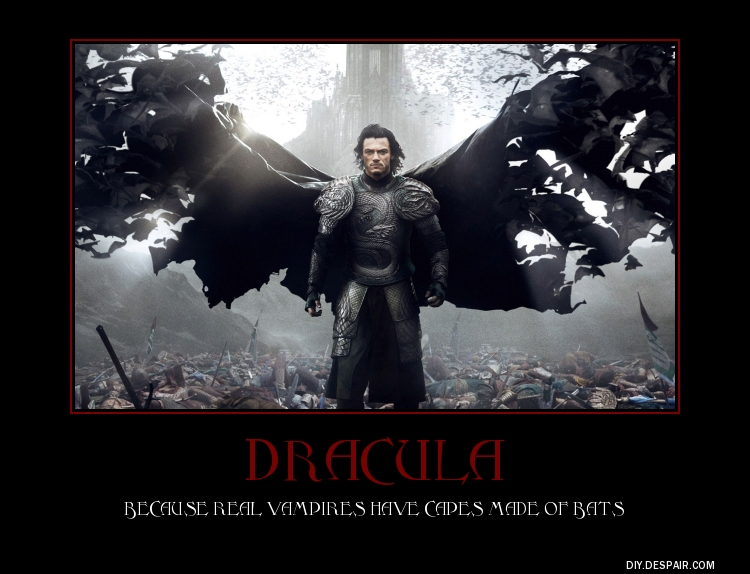 dracula untold demotivational poster by blueravenknight