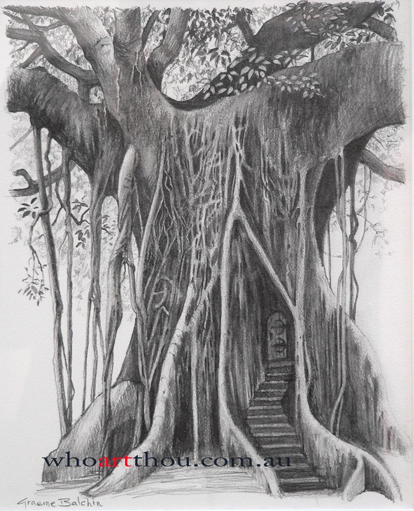 Tree Door By Graemeb Tree Door By Graemeb