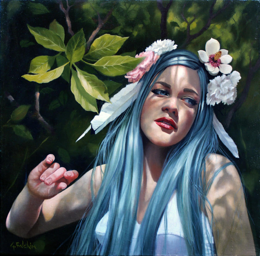 The Stolen Magnolia by graemeb