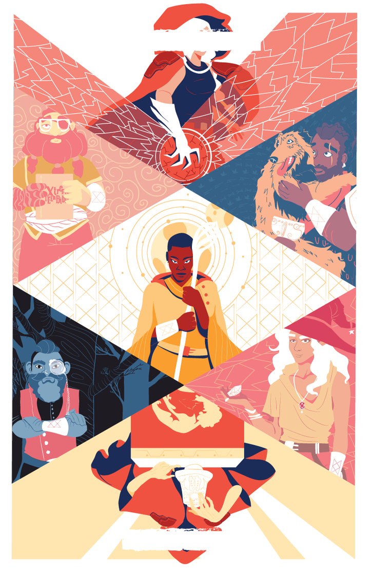 the adventure zone balance poster by jebiwonkenobi on deviantart
